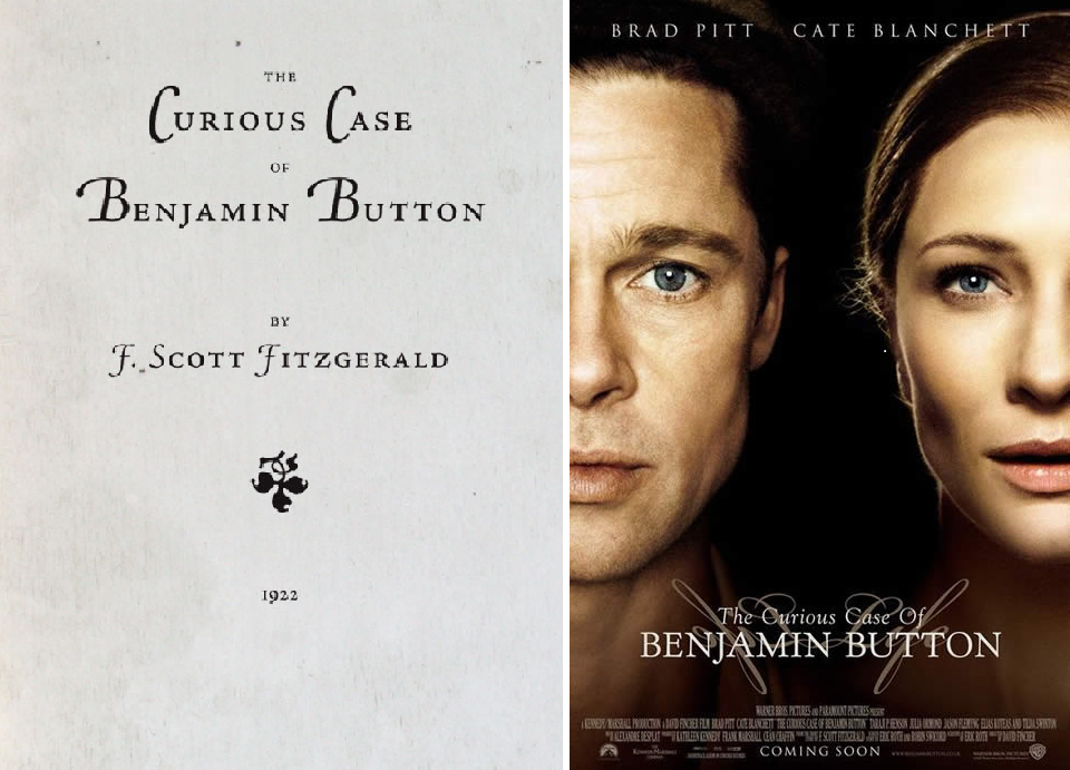 movie and short story benjamin button The curious case of benjamin button  movie is about the short time we're given with life and how we are to make the most of it even with a story as fictional as.